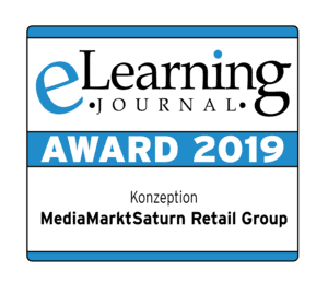 eLearning Award 2019 – Konzeption